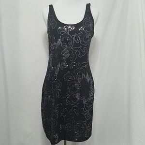 Express dream weight cotton sequin dress
